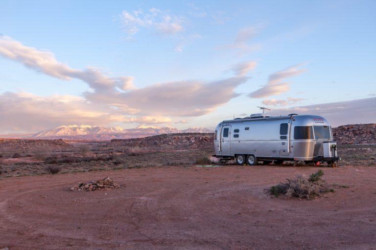 steel camper trailer