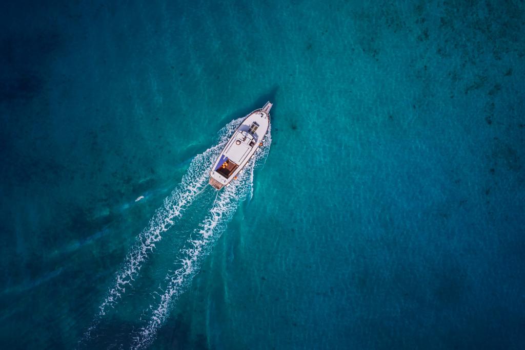boat cruising